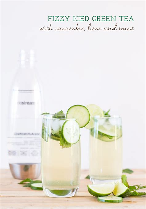 Adding Sparkling Water To Tea - make your own fizzy iced green tea and sparkling espresso