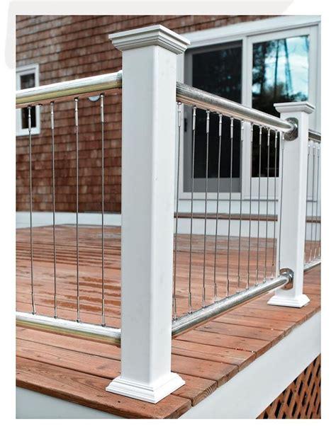 best 25 wire deck railing ideas on pinterest deck