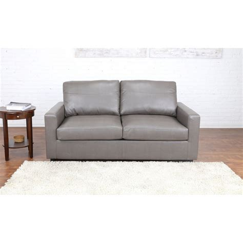 loveseat with pull out bed bonded leather sleeper pull out sofa and bed ebay