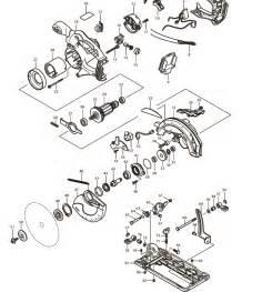 makita bss610z parts 18v lxt lithium ion cordless 6 1 2 circular saw