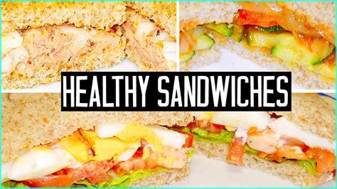 3 healthy sandwich ideas make easy school lunches youtube