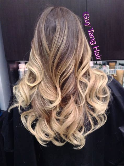 brown on blonde hair fade dark brown hairs hair color trends 2017 2018 highlights amazing color
