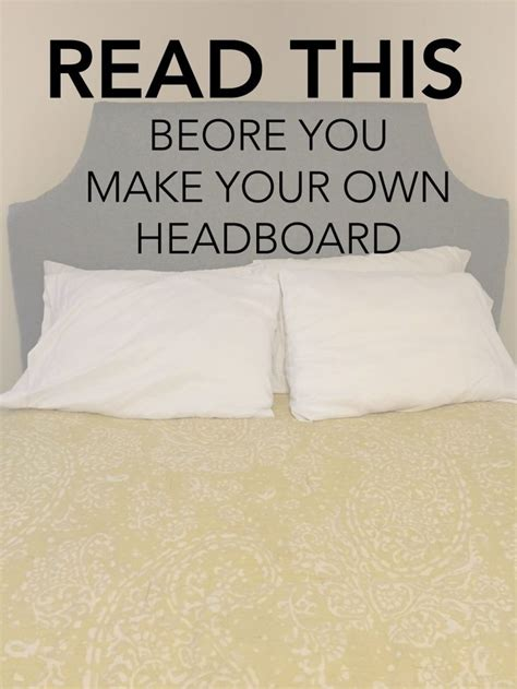 make your own bed headboard best 25 diy headboards ideas on pinterest wood
