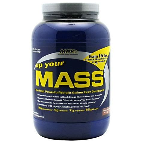 Up Your Mass 46lbs Mhp mhp up your mass fudge brownie 2 lb jet