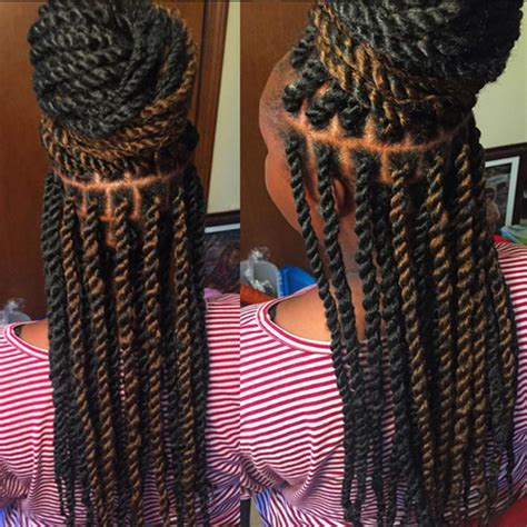the top best hair for kinky twist long kinky twists african american hairstyles trend for