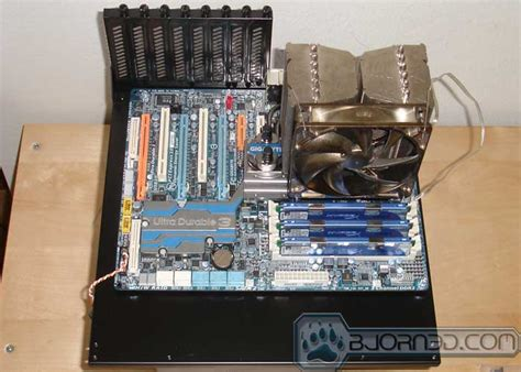 bench test motherboard lian li pc q06 testbench bjorn3d com