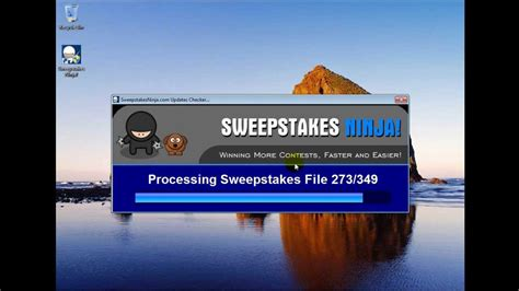 Online Sweepstakes Software - sweepstakes ninja entering online sweepstakes introduction youtube