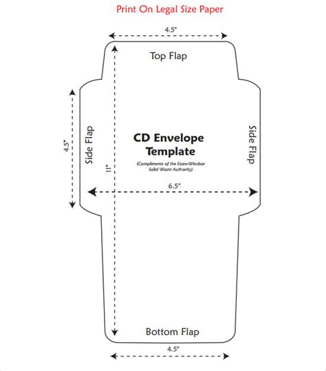 sle cd envelope template 9 free documents in pdf