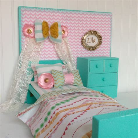 american doll bedroom bow banner american girl doll bedroom set 18 doll by