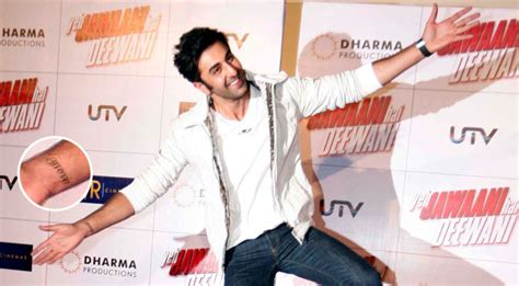 tattoo on ranbir kapoor s hand 10 bollywood celebrities with super cool tattoos ary