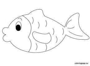 coloring fish fish coloring page