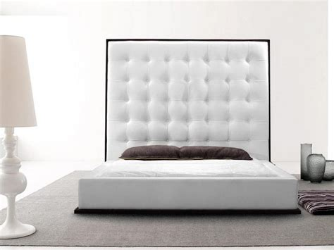 white leather tufted headboard white leather tufted headboard with crystals home design