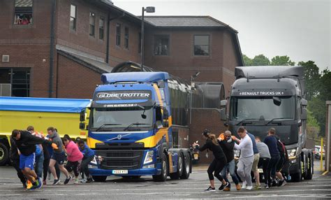 volvo trucks office volvo charity truck pull raises 163 700 for