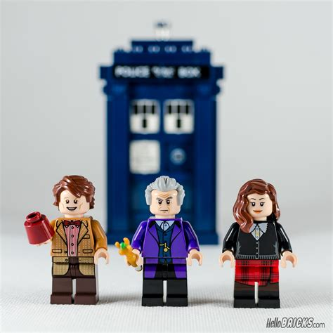 Lego 21304 Doctor Who review lego ideas 21304 doctor who hellobricks lego