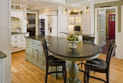 kitchen island area 15 eat in kitchens that put your dining room to shame