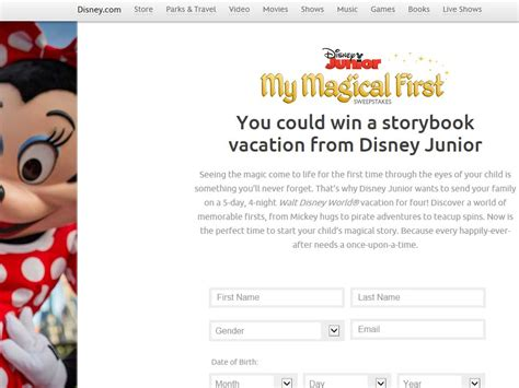 My Magical First Disney Sweepstakes - disney junior my magical first sweepstakes sweepstakes fanatics