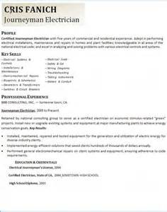 Resume Samples Electrician by Master Electrician Resume Example 1 Ilivearticles Info