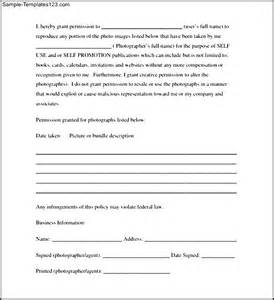photography copyright release form sle templates