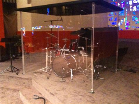 drum booths for churches