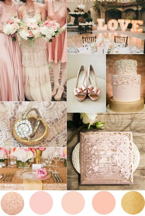 pink and gold wedding motif best 25 wedding theme ideas on bling