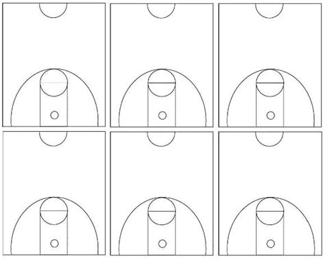 basketball court template best photos of blank basketball court diagram blank