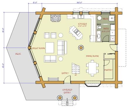 Log Home And Log Cabin Floor Plans Between 1500 3000 Log Cabin Floor Plans 1500 Sq Ft
