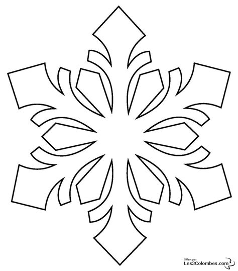 free coloring pages of shop drawing snowflake 4 nature printable coloring pages