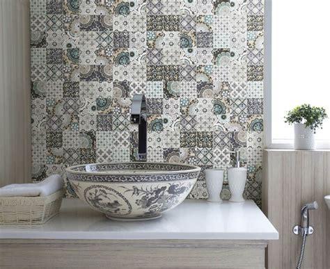fliese patchwork le piastrelle di tendenza per il bagno
