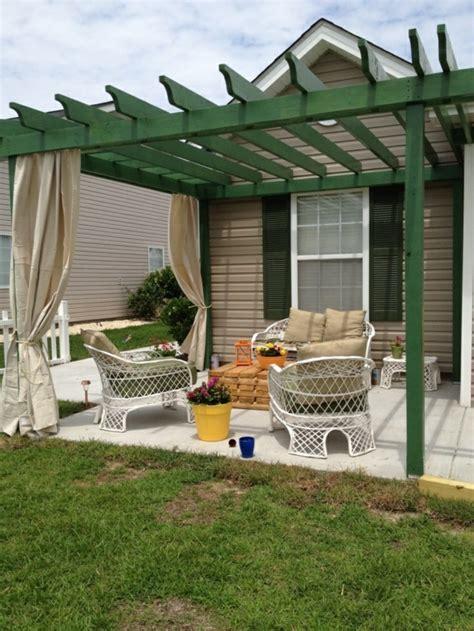 veranda holz selber bauen pergola aus holz mit faltdach bvrao