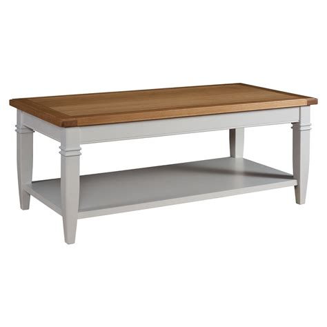 classic grey painted coffee table
