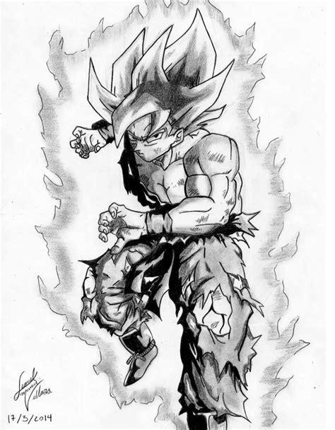 imagenes goku blanco y negro goku ssj ilustra