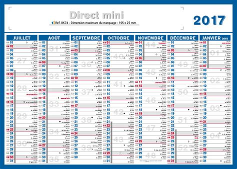 Calendrier Was Petit Calendrier