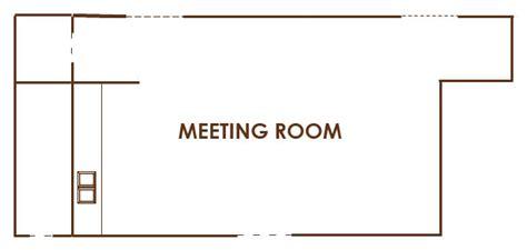 meeting room layout planner bellevue meeting space floor plan capacity chart