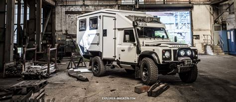 Defender Schlafdach by Land Rover Defender Explorator 130 Explorer Magazin