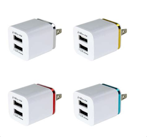 Apple Travel Adapter Charger 2 1a dual usb wall charger us 2 1a power adapter wall