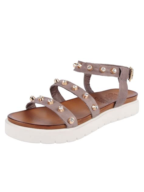 vince sandals vince camuto serine sandal in gray grey lyst