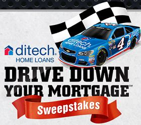 ditech drive down your mortgage sweepstakes - Mortgage Sweepstakes