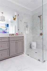 chelsea gray bathroom grey and white porcelain marble like shower tiles