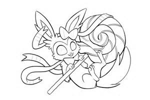 pokemon coloring pages eevee evolutions kids coloring
