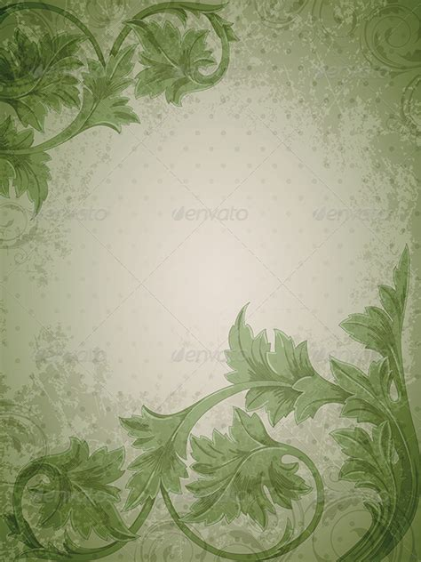 Green Vintage by Green Vintage Background By Artness Graphicriver