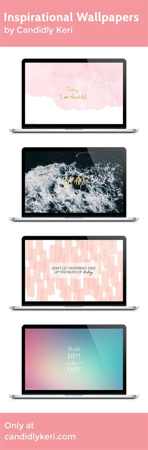 inspirational wallpaper for macbook pro inspirational quotes ocean patterns watercolor gold