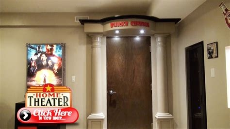 build  ultimate home theater entrance