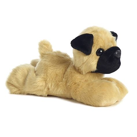 pug stuffed pugster the stuffed pug mini flopsie by