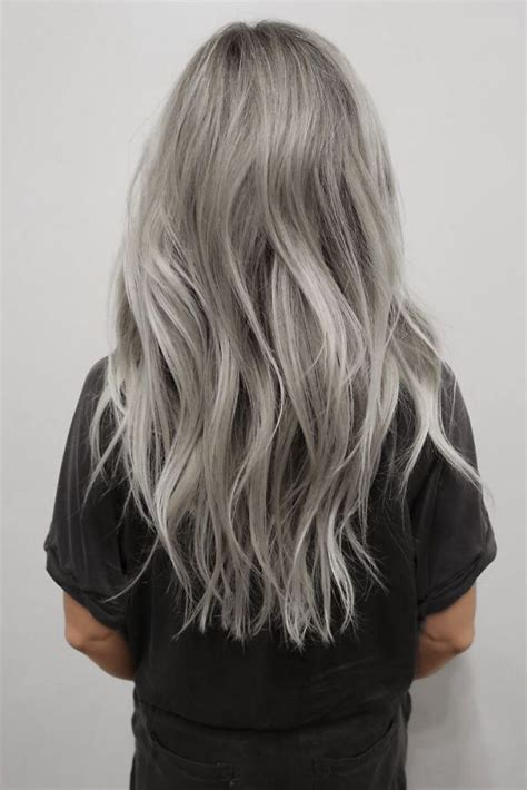 young women with grey hair granny hair trend young women are dyeing their hair gray