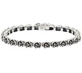 Or Paz Sterling Silver Rose Design Tennis Bracelet   Page 1 ? QVC.com