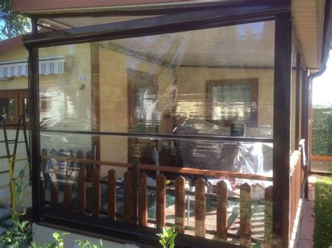 tende trasparenti per verande tenda cristal trasparente con guide per verande e chioschi