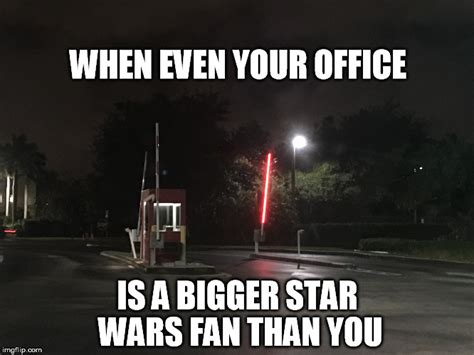Star Wars Nerd Meme - star wars office fan imgflip