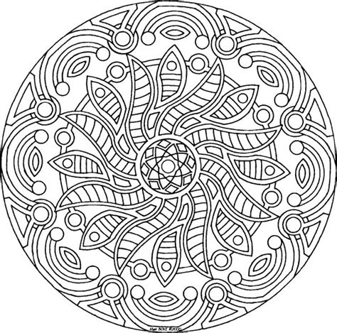 mandala coloring pages for adults free coloring pages of mandalas