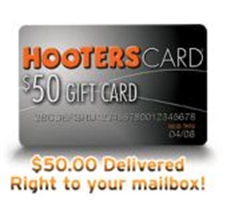 Hooters Gift Cards - hooters master card discontinues credit card offering