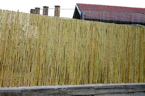 stuoie di canne recinzione stuoia canna spaccata